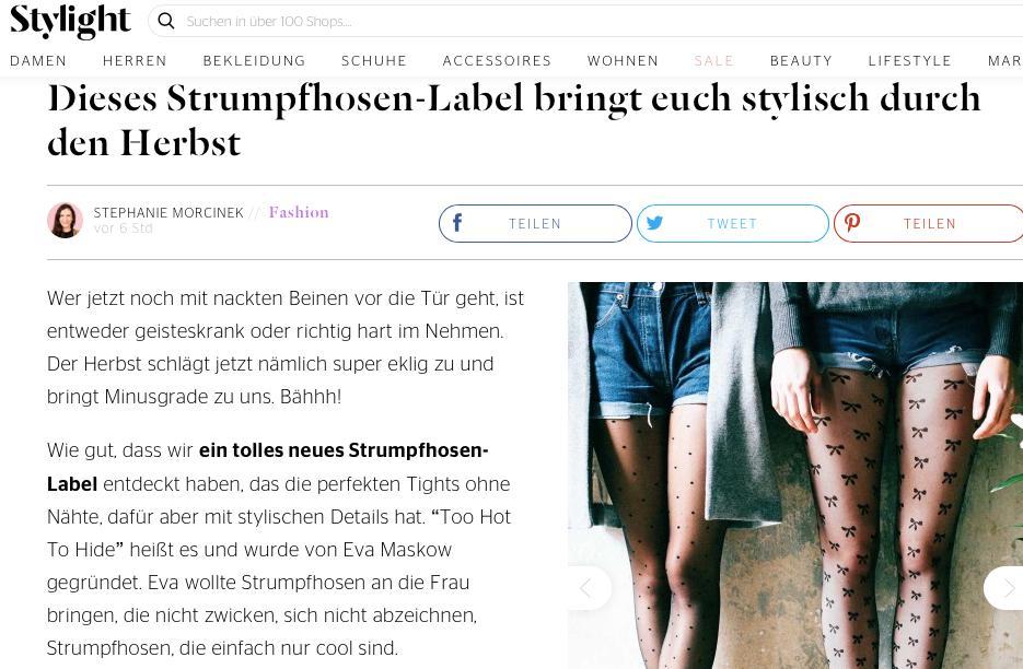stylight strumpfhosen