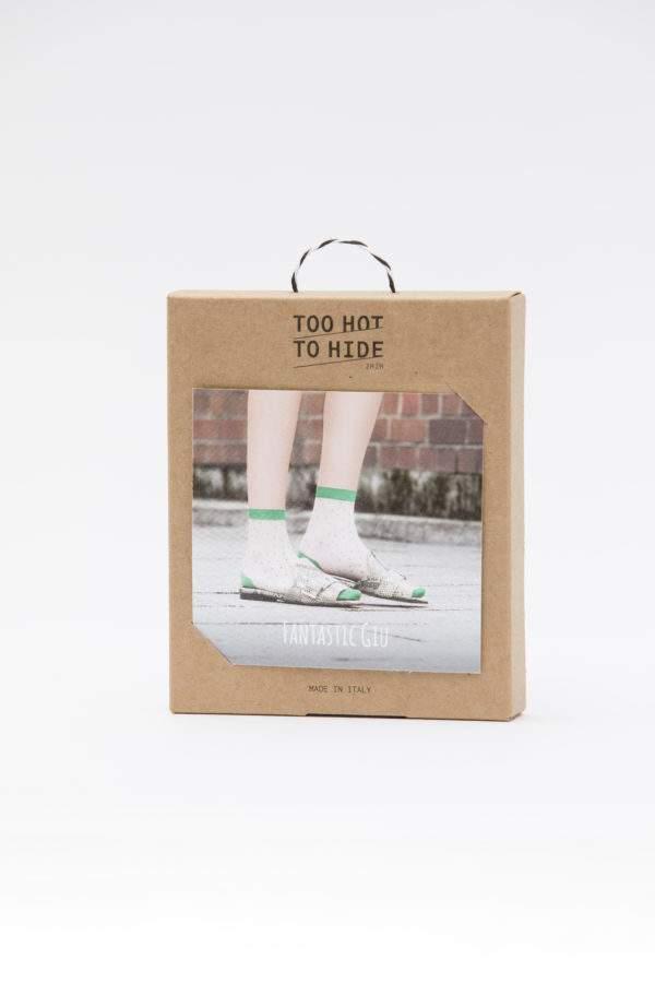Verpackung Fantastic Giu: 15 den Söckchen mit Pünktchen