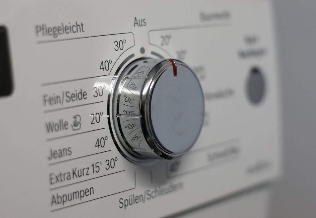 Waschmaschine zur Pflege von Strümpfen