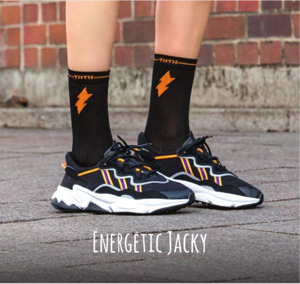 Energetic Jacky schwarz